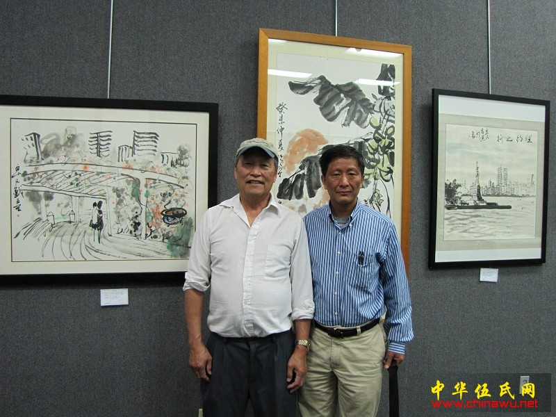 圣地牙哥中华美术家协会主席伍卓凡画展