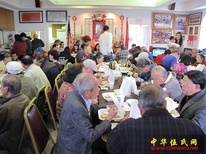 罗省伍胥山公所感恩节活动