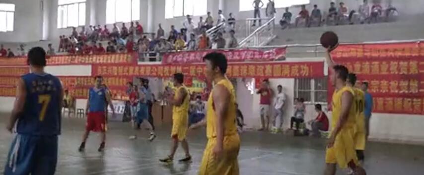 广东电视台报道第二届伍氏篮球赛